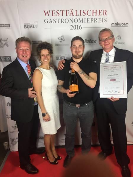 Detmolder Hof erreicht 2.Platz beim westfälischen Gastronomiepreis