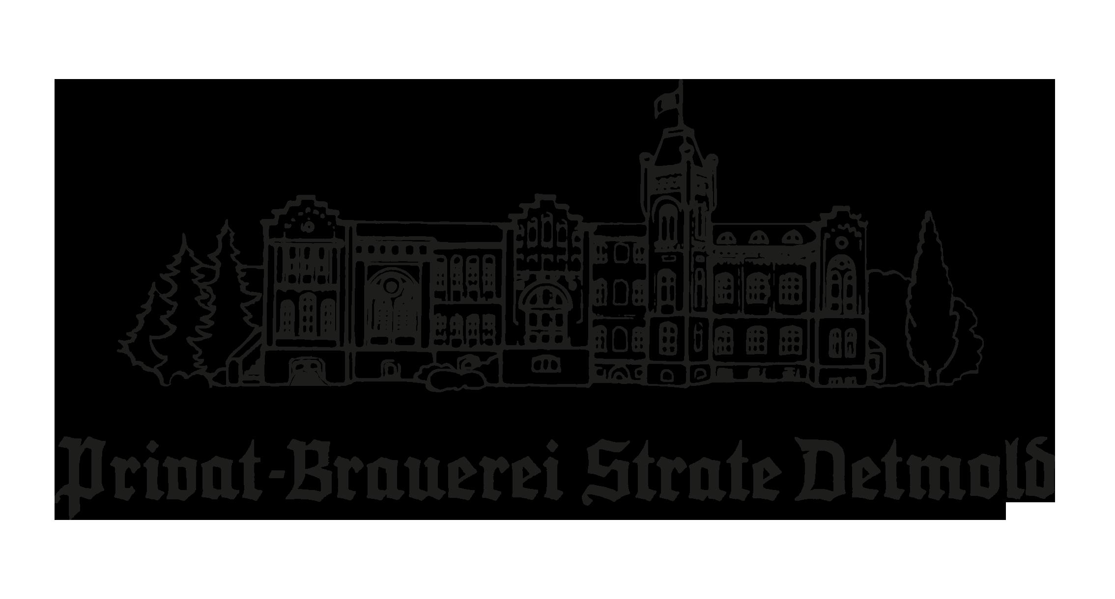 Detmolder Schriftzug mit Gebäude Image