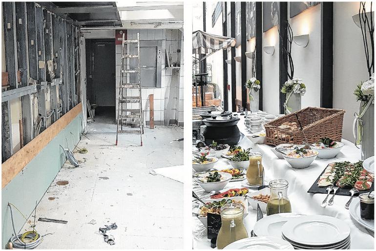 Neues Jahr, neue Küche für Strate's Brauhaus!