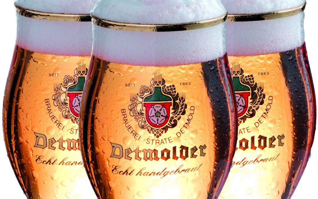 3 Gläaser Pokal Detmolder