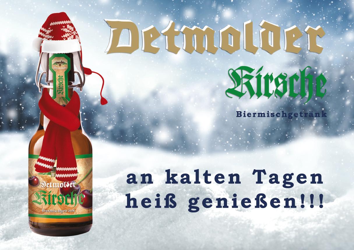 Detmolder Kirsche Wintermotiv Image