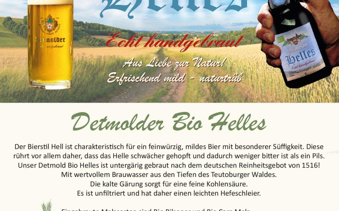 Steckbrief – Detmolder Bio Helles